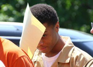 Tyshawn Jones after an earlier court appearance. (Photo/Conrad Baker)