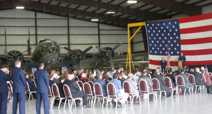 RIT ROTC Volunteers Choose National Warplane Museum for Grad Ceremony