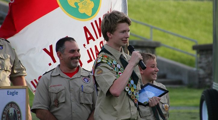 8 New Eagle Scouts Soar from Livonia Troop
