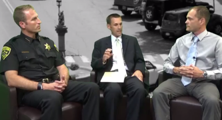 WATCH: Sheriff Dougherty and DA McCaffrey Fight Heroin with New Initiatives