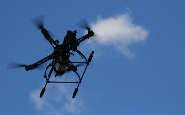 Drones Launch Sheriff's Week at Geneseo Wegmans