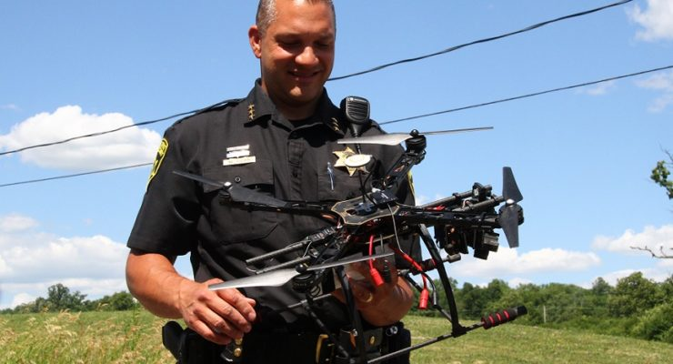 Sheriff's Office Launches First Police Drones in Upstate NYS