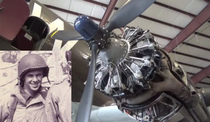 D-Day Hero Les Cruise Rallies for Whiskey 7 Restoration at National Warplane Museum Airshow
