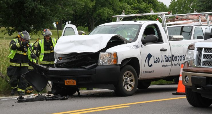 Rear-End Collision Backs Up 20A in Geneseo