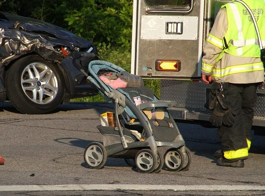 Baby Home Safe After Geneseo Accident