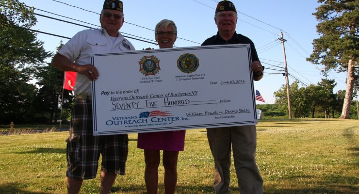 Golfers Cover Military Heroes' Backs with $7.5K at Livingston Country Club