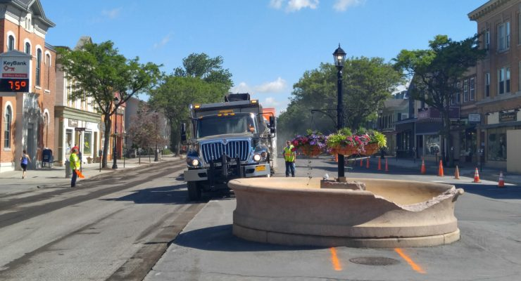 Geneseo Main Street Resurfacing Completes Big Dig Project