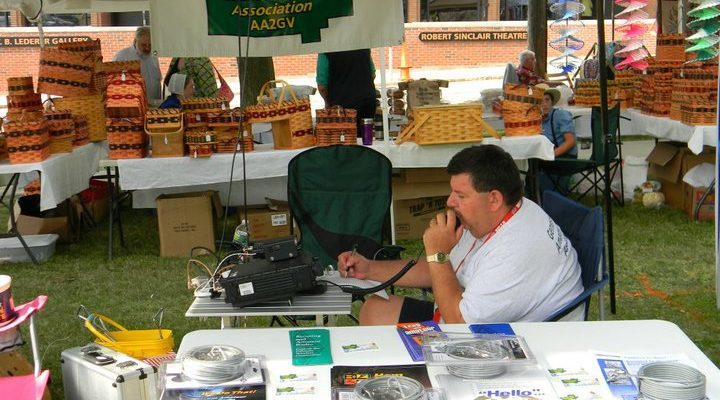 Ham Radio Ops have a Field Day with Perry Emergency Comms Demo