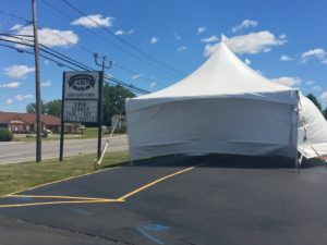 Livingston Lanes Fireworks Tent (Photo/Riagan McMahon)