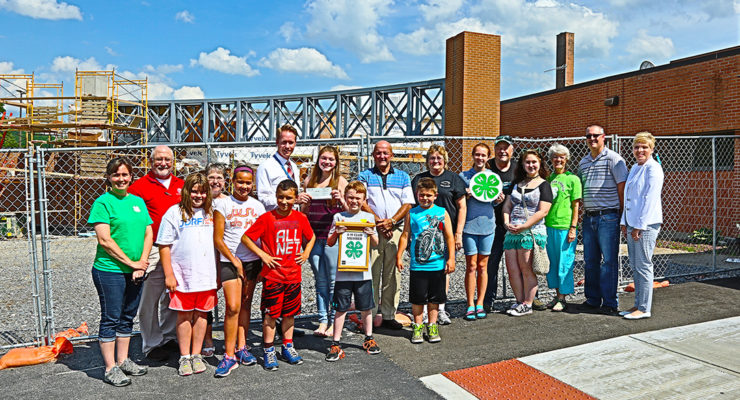 4H Gives Over $500 to Noyes Cancer Center