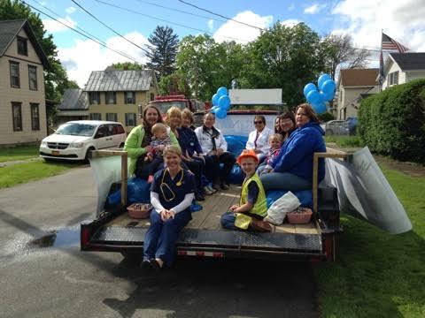 Noyes Health Float Takes Third in Dansville Dogwood Festival