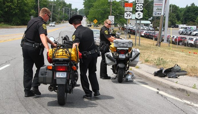 Man Injured in Avon Motorcycle Crash with Wife
