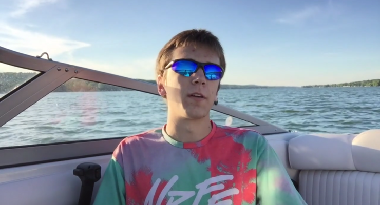 WATCH: Teen Tinkerer Throws Out a Line to Fund Conesus Lake Weather Buoy