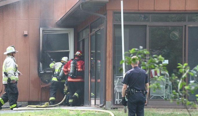 Windowsill Fire Burns in Geneseo Home
