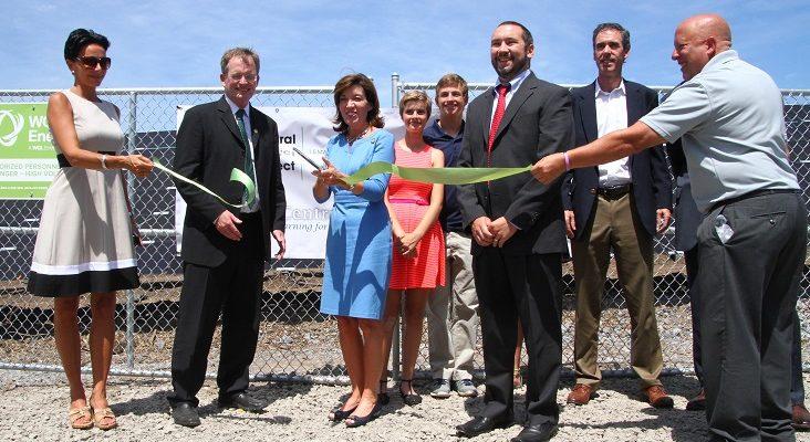 Avon Central Cuts Ribbon on NYS' Largest School Solar Field