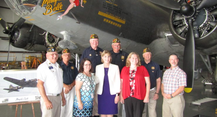 Young Thanks National Warplane Museum for Giving Back to Veterans at Airshow