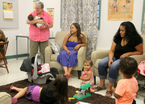 Babies Drink Up at 1st Birthday of GCC Dansville's Healthy Baby Café