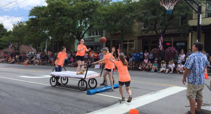 Bed Races Highlight Lima Crossroads Festival