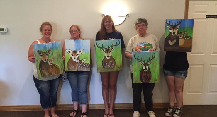 Abandoned Palette's 'Paint n' Sips' Unleash Livingston County's Inner Artist