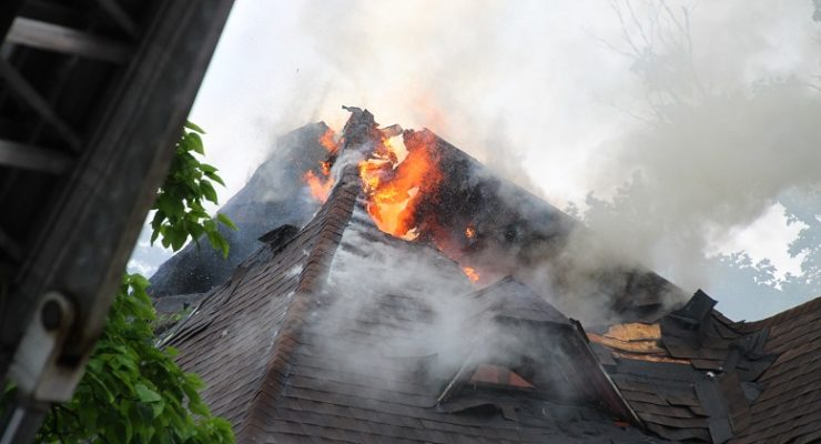 Perry House Takes Horrible Damage from Fire