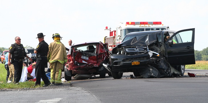 Rear-End Collision Kills 1 in York