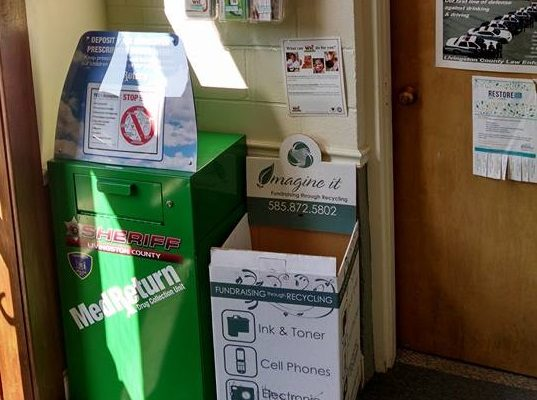 24-7 Drug Drop Box Opens in Caledonia
