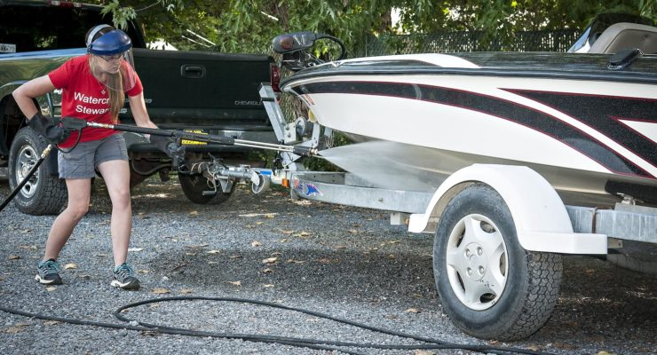 Conesus Boaters Scrub Deeper Scum with New Washing Station