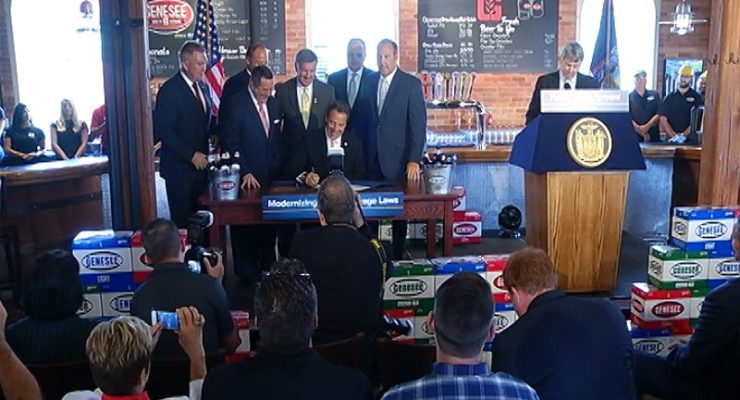 NYS Allows Earlier Alcohol Sales on Sundays