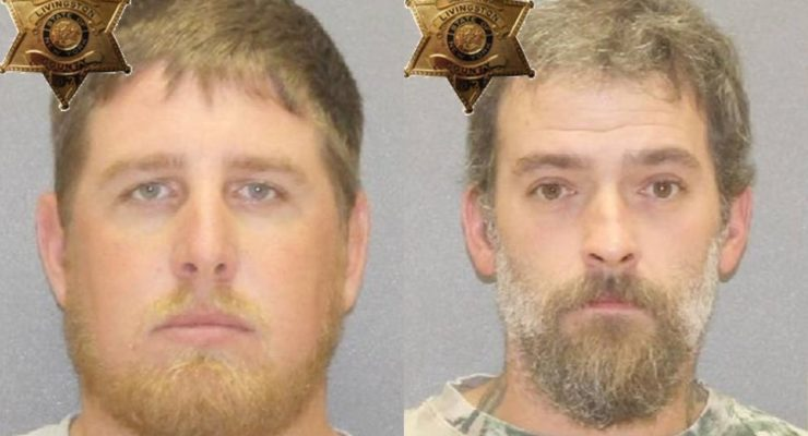 (L-R) Franklin and Krause. (Photos/Livingston County Sheriff's Office)