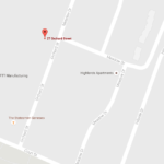 The area of the robbery report. (Map data via Google maps)