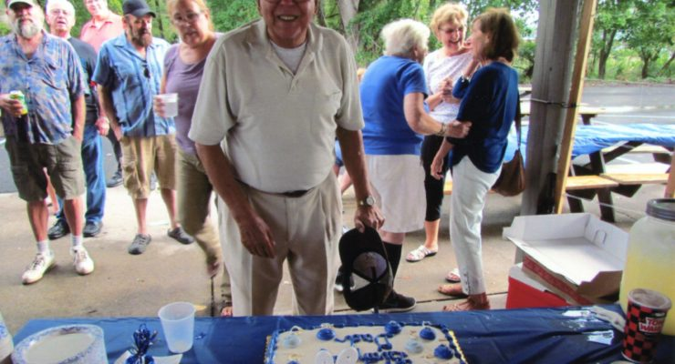 Surprise Happy 90th for Livingston County Hero and WWII Vet Phil Rongo