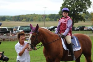 Young riders take the field. (Photo/Karen Kandra Wenzel)