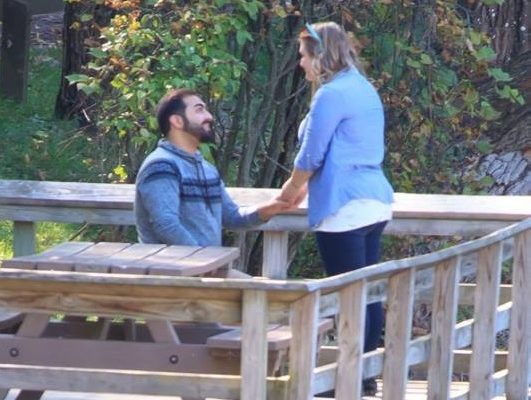 Smitten Internet Finds Letchworth's Mystery Couple to Deliver Candid Pics