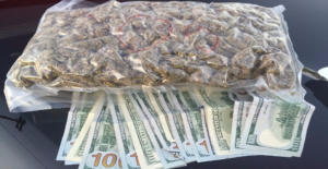 The marijuana allegedly recovered from Friebely. (Photo/Geneseo Police Department)