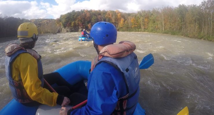 Through Drought and Loss, Letchworth Rafting Returns to Raging Genesee