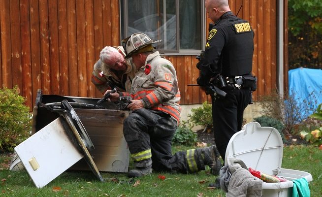 Dansville Firefighters Save House from Dryer Fire