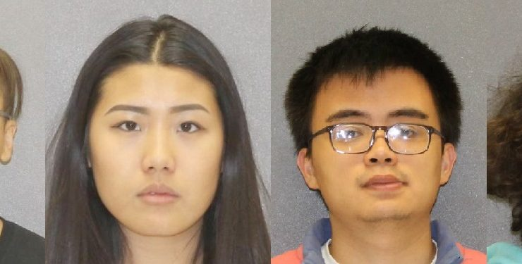 (L-R) Zhe Hoa Lin, Ada Song, Ryan Lim, and Tyler Van Dyke. (Photos/Livingston County Sheriff's Office)