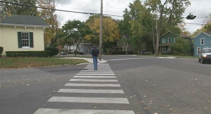 SUNY Students Call for Stoplight at Geneseo Intersection