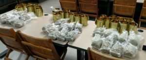 The marijuana in its packaging. (Photo/Livingston County Sheriff's Office)