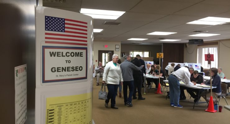 Livingston County Voters Pack the Polls