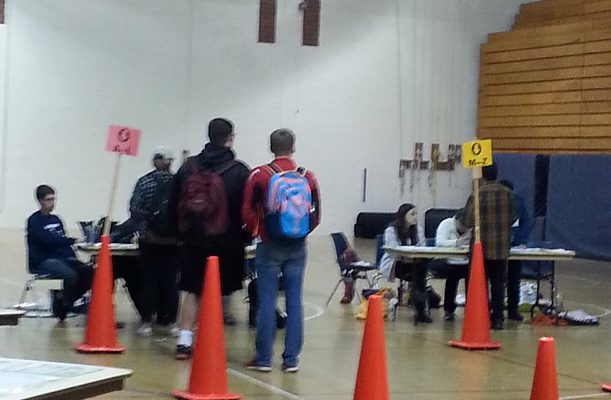 Over 870 SUNY Geneseo Students Vote So Far at On-Campus Polling Place
