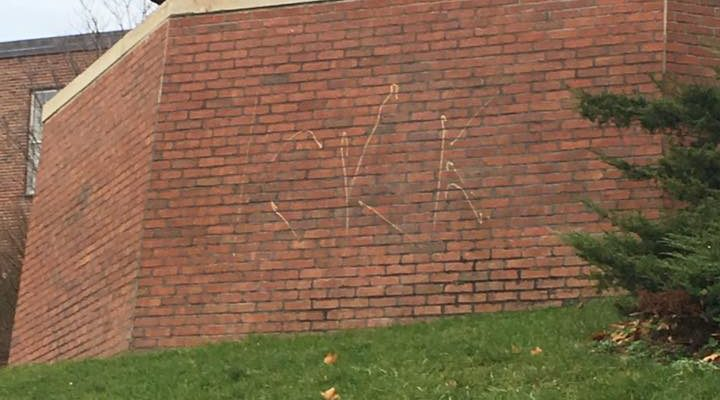 NYS Investigates 'KKK' Graffiti on SUNY Geneseo Campus