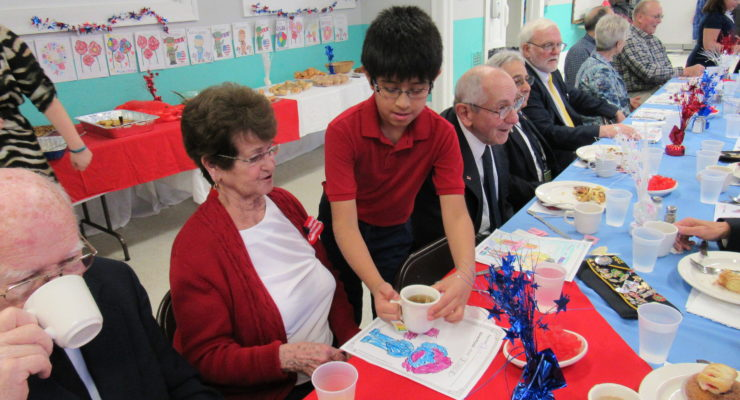 St. Agnes Delivers for the Military on Veterans Day