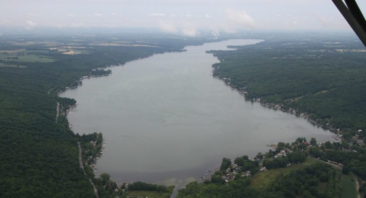 Conesus Lake Streambank Protection Wins Environmental Project of the Year
