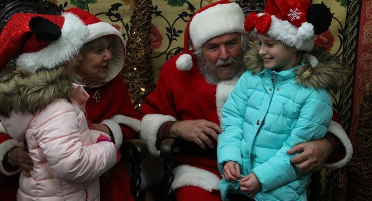 Geneseo Welcomes Santa with ChristmaSing and Taste of the Finger Lakes