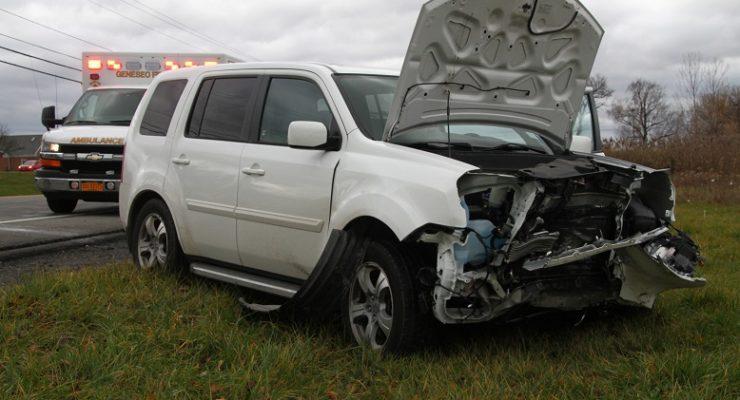 SUV T-Bones Car by Geneseo Applebee's