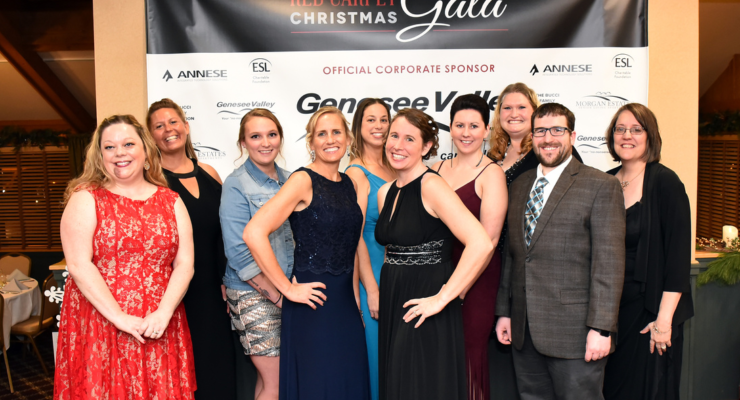 Catholic Charities Rolls Out Red Carpet for Christmas Gala