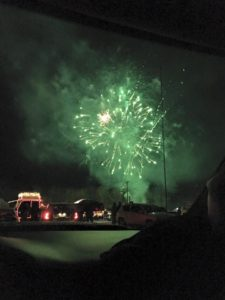 Winter fireworks. (Photo provided)