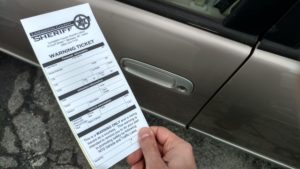 Sheriff's Office Issues 'Warning Tickets' as Middle Option for ...