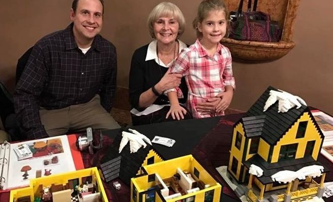 Dad and Daughter Build Support to Make Their 'Christmas Story' Lego House Official Set